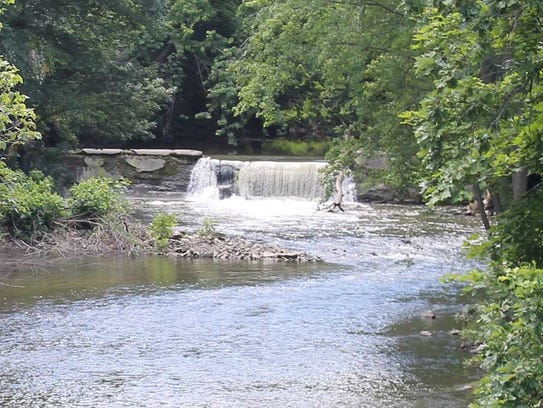 Willow Creek Waterfall.