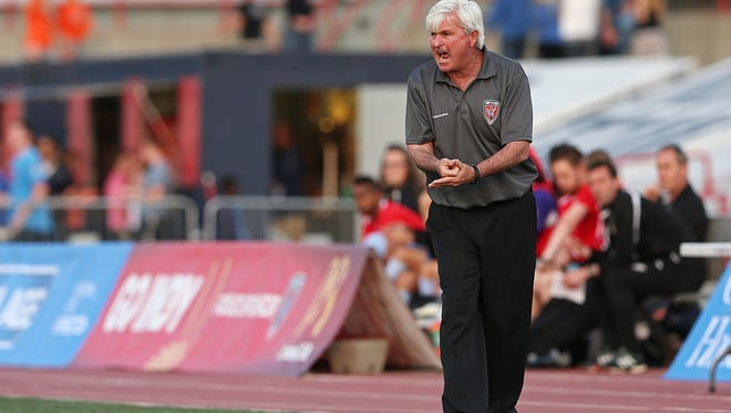 Indy Eleven head coach Tim Hankinson has a tough job this weekend. Indy sits three points – just one win – behind the first-place New York Cosmos. But Indy will also have to win by at least three goals while tallying at least four in order to trump New York in the goal differential and total goals tiebreakers, respectively.