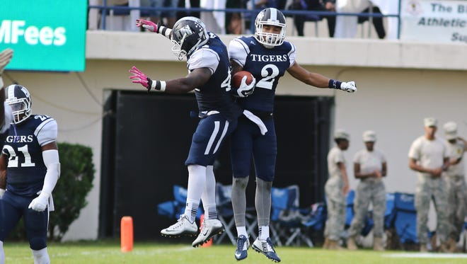 Jackson State safety Justin Jemison finished last season with 35 tackles and two interceptions.