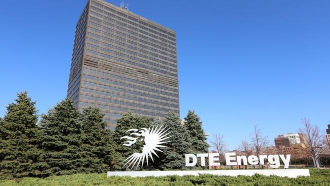DTE Energy in Detroit on Monday, Nov. 9, 2015.