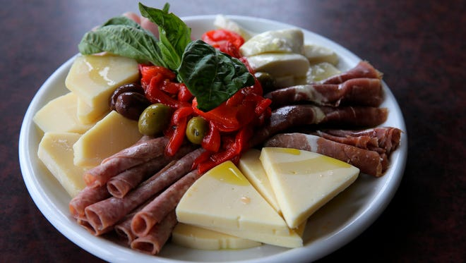 San Marzano Trattoria, which will participate in Jersey Shore Restaurant Week at the end of the month, showcases cold antipasto.