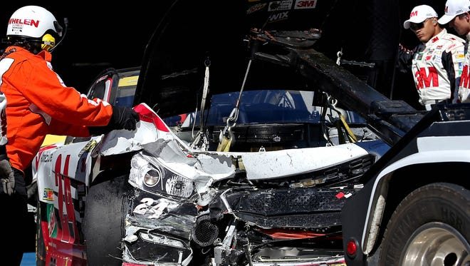 NASCAR has altered some rules affecting whether teams will be able to repair cars and return to the race.