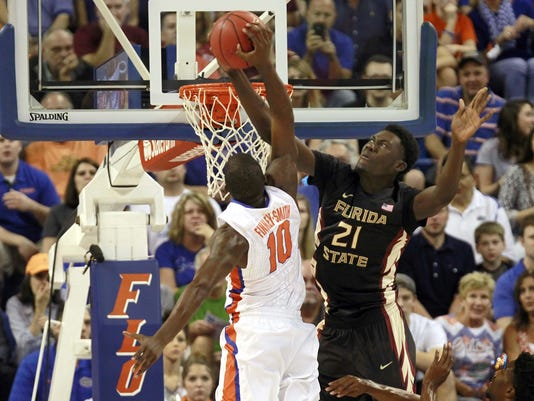 NCAA Basketball: Florida State at Florida