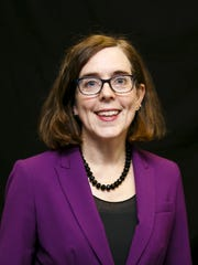 Gov. Kate Brown pictured on Monday, Oct. 3, 2016.