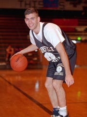 Brad Stevens set Zionsville school records during the mid-90s.