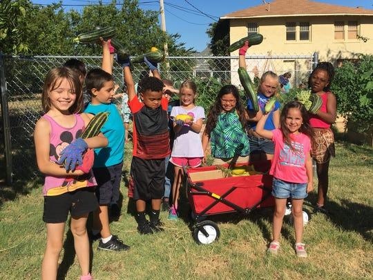 Children from the Day Nursery of Abilene's Cedar Street