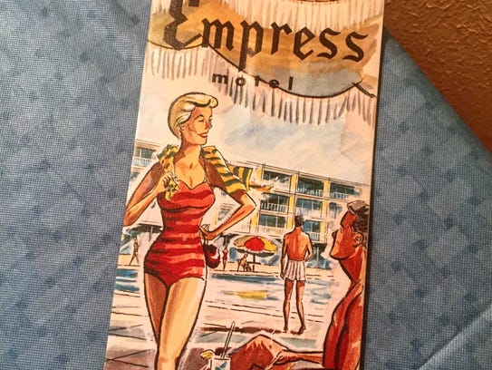 A brochure of the Empress Motel in Asbury Park. Now