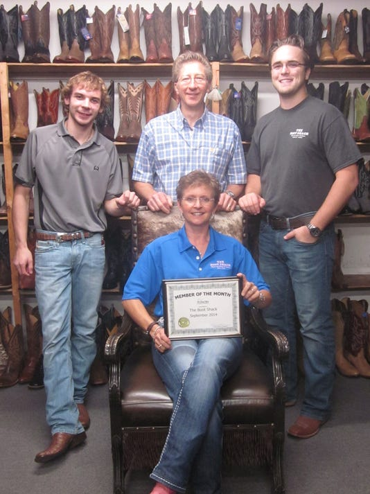 The Boot Shack - Andy Schwinghammer, Deb Durken, Alex Lindenman, and Kevin D.JPG