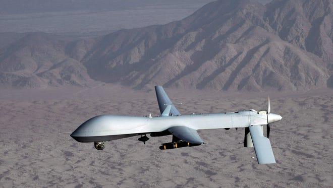An unarmed Predator drone was shot down in Syria.