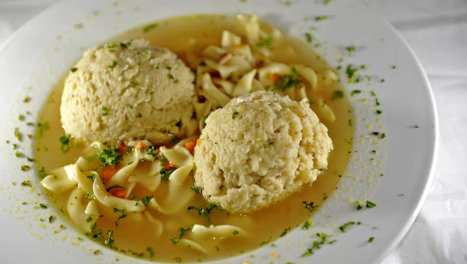 The Matzah Ball Soup at Noshville will cure what ails you.