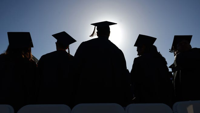 High school graduation rates reached an all-time high of 83 percent last year.