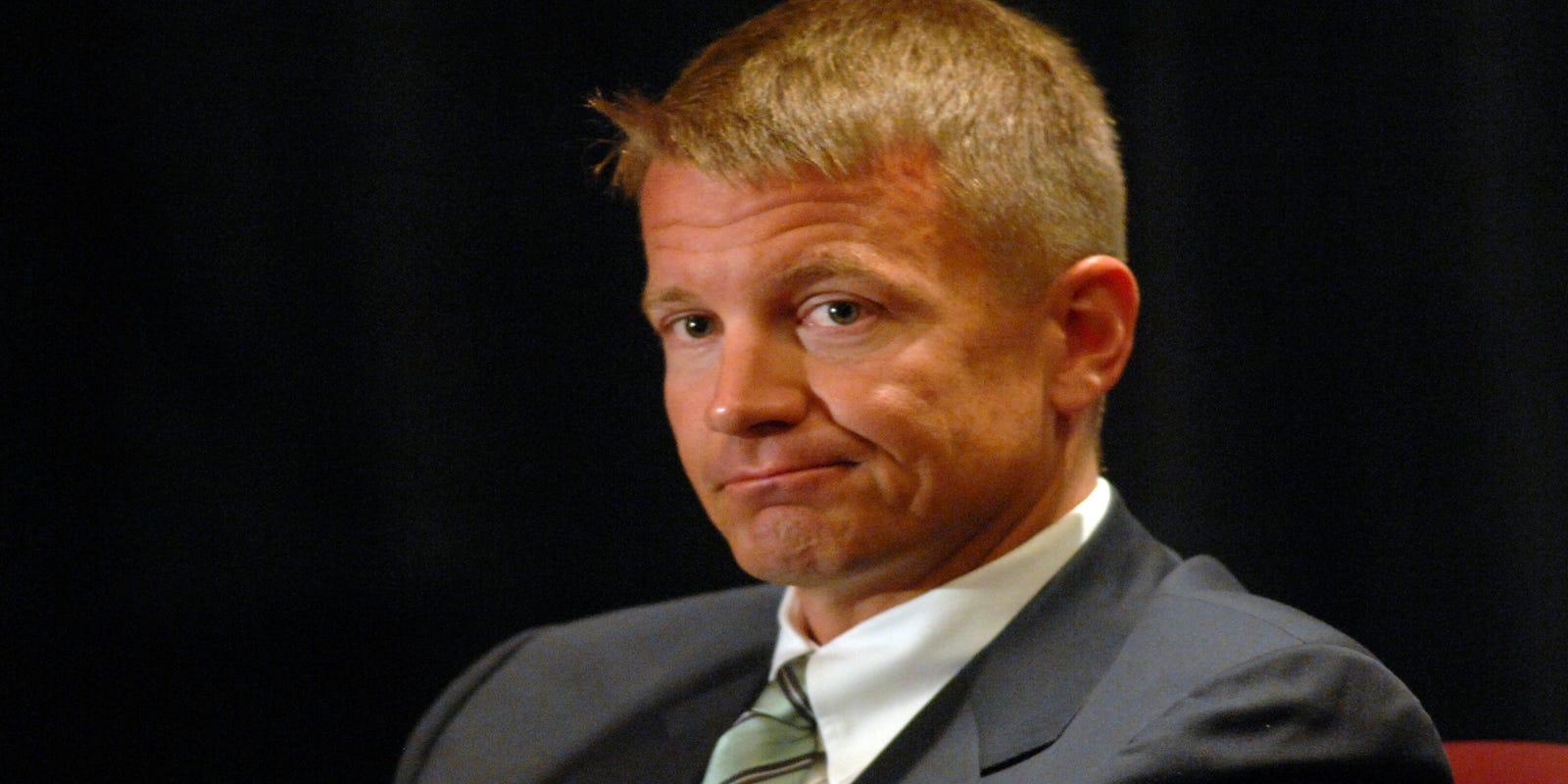 Blackwater founder Erik Prince accused of murder   Facing