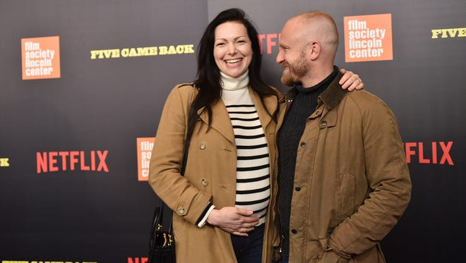 Laura Prepon and Ben Foster.