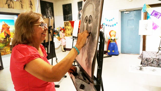 During the Phoenix Center for the Arts Open House, visitors can take 20-minute workshops in different art forms.