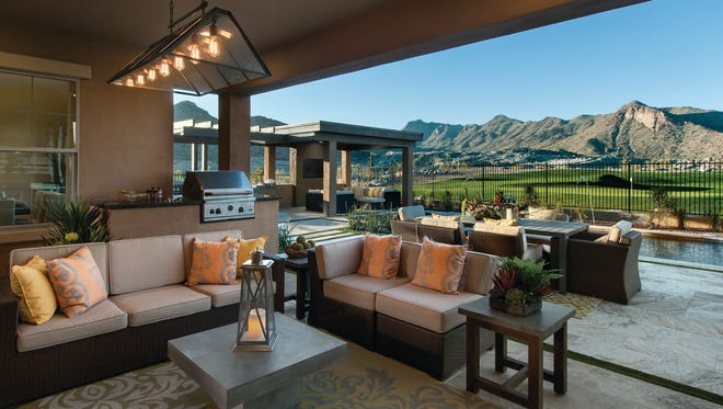 Encore by David Weekley Homes offers a selection of thoughtfully designed, single-level floor plans at Victory at Verrado.