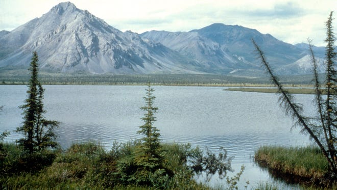 This undated photo shows the Arctic National Wildlife Refuge in Alaska.