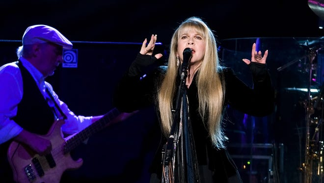 Stevie Nicks performs at Madison Square Garden in New York in 2009.