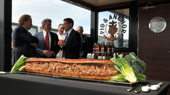 To celebrate the grand opening of Carnival Magic's