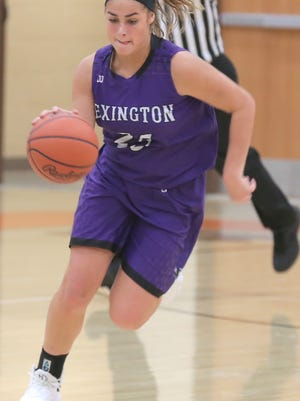 Lexington's Gabby Stover will be the team's starting point guard this season leading a very tall Lady Lex lineup.