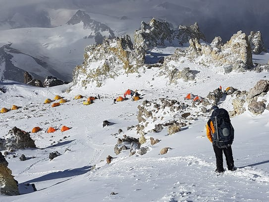 Camp 3 is the last camp before climbers make a push