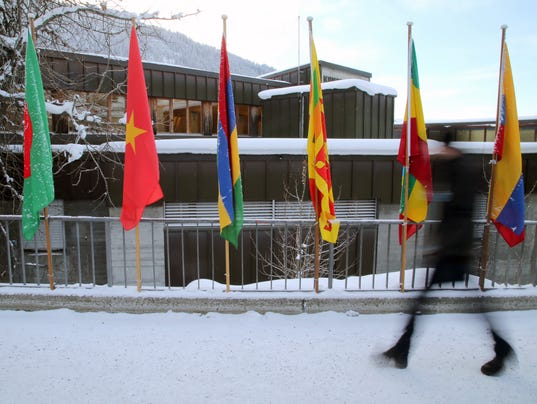 XXX _IWORLD ECONOMIC FORUM TAKES PLACE IN DAVOS, SWITZERLAND001.JPG