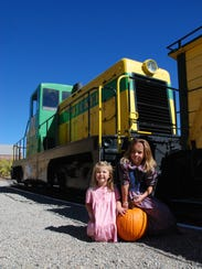 The V&T pumpkin train