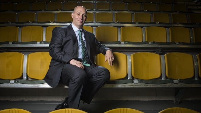Jeff Schulman takes over for Bob Corran as UVM's athletic director on July 1.