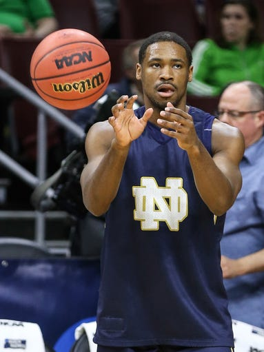 Notre Dame point guard Demetrius Jackson (6-foot-1,
