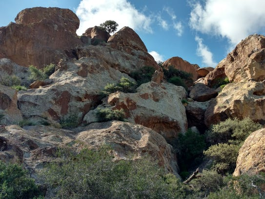The main recreational activities at Hueco Tanks include