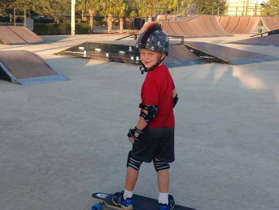 Eagle Skate Park,  adjacent to the Youth Center in