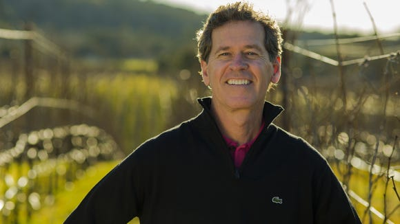 California winemaker Paul Hobbs, pictured here, will be establishing a winery in the Finger Lakes with German winemaker Johannes Selbach.
