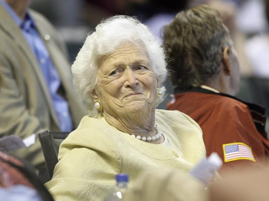 Barbara Bush,George H.W. Bush