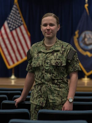Petty Officer 3rd Class Stevie Decloux of Menomonee Falls is a machinist's mate with the U.S. Navy.