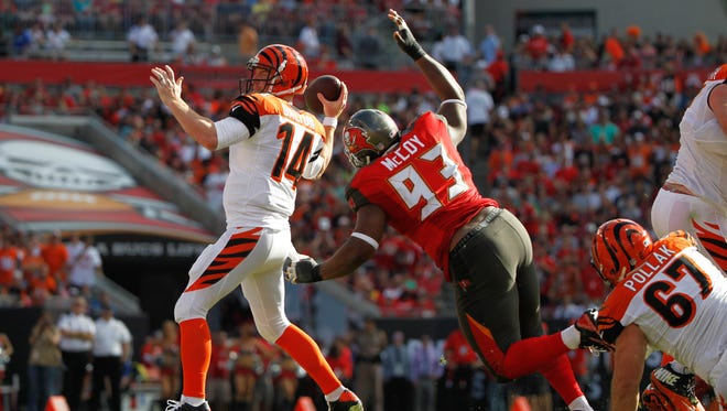 Tampa Bay Buccaneers defensive tackle Gerald McCoy remains a focus for the Cincinnati Bengals, even in the preseason.