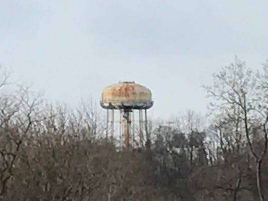 Nodine Hill water tower