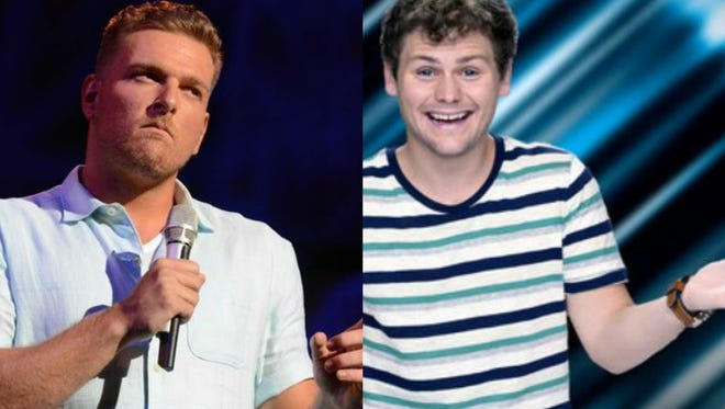 Colts punter Pat McAfee will welcome Indy's own Drew Lynch to his New Year's Eve show.