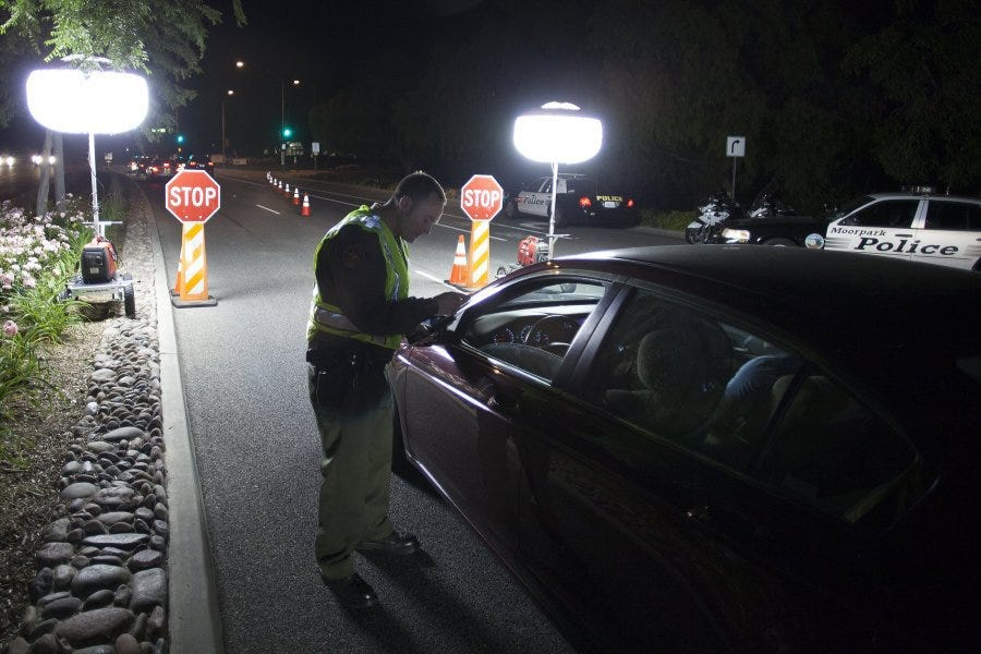 DUI checkpoint in Thousand Oaks leads to one arrest one citation & DUI checkpoint in Thousand Oaks azcodes.com