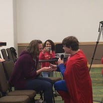 Spoiler alert: One Iowan's Lois Lane said yes to his Comic Con Superman proposal