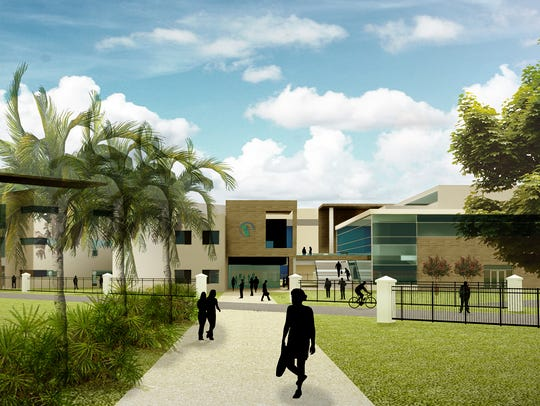 A rendering of the future Center for Innovative Technology