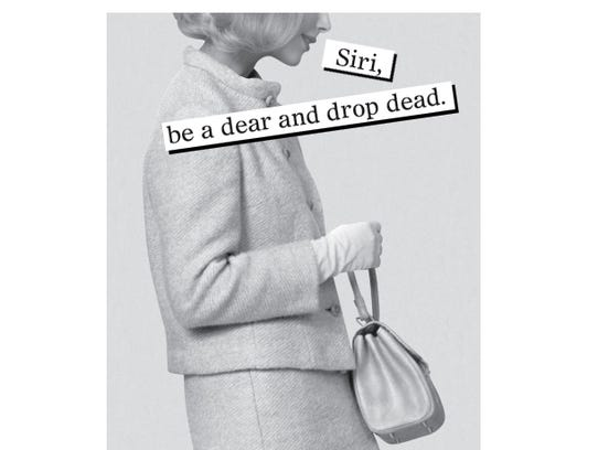 Siri, be a dear and drop dead.
