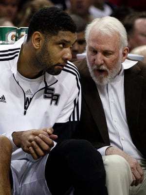 Spurs coach Gregg Popovich doesn't expect forward Tim Duncan to retire after this season.
