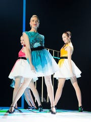The Rockettes strike a pose in a scene about Fashion Week.