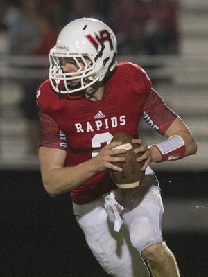 Wisconsin Rapids quarterback Ben Olson and the Raiders need to beat Oshkosh North at home Friday to become playoff eligible.