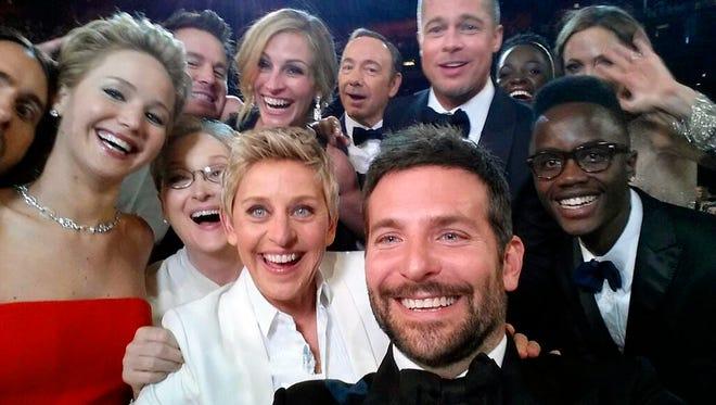 The selfie seen round the world