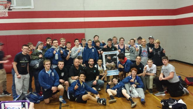Enka's wrestling team.
