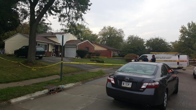 IMPD officers were dispatched to the 3700 block of Luewan Drive in the Northeastwood neighborhood at about 4 p.m. Tuesday after 911 dispatchers retrieved a call of a person shot.