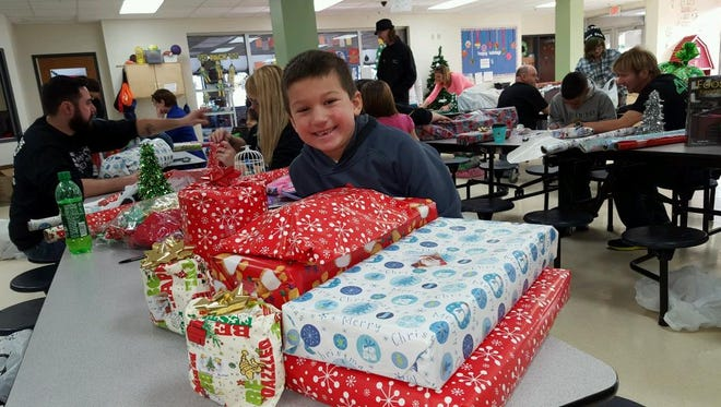 The Sheboygan Jaycees recently selected 12 local kids to be a part of its annual Spend With a Friend Day.