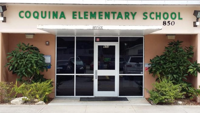 Coquina Elementary received a $2,000 grant for it's crime scene and forensic investigations program.