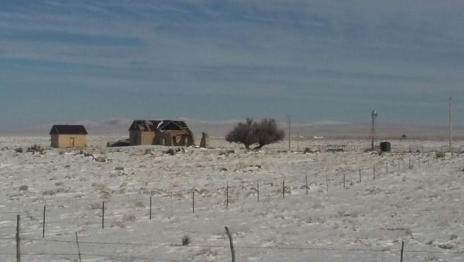 Local ranchers in  Corona, near the edge of Lincoln County said the storm did not exact a heavy toll.