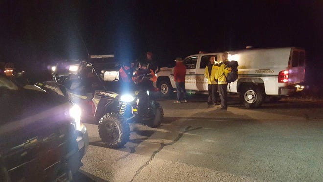 The Washoe County Sheriff's Office Search and Rescue team is looking for two missing snowboarders in the area of Mt. Rose Ski Tahoe resort.